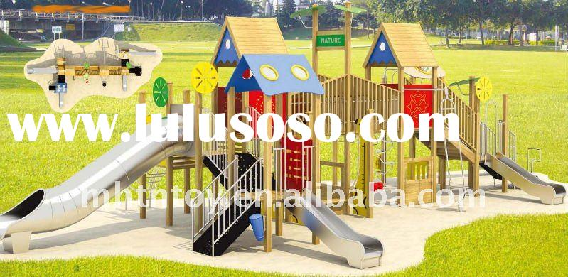 Wood Plastic Composite Playground-Largest Supplier In South China