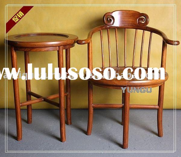 Wooden chair and table,antique furniture