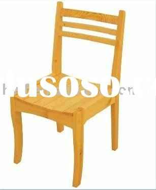 Wooden dining room chair parts