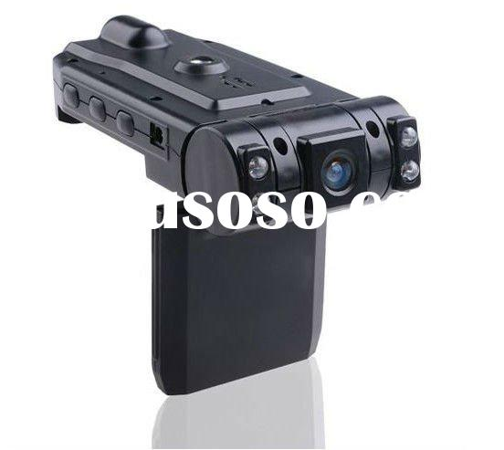 X1000 two camera car dvr recorder hd car dvr , car camera recorder, front and back view car camera