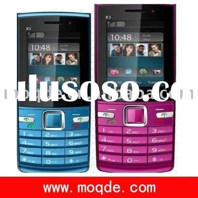 X3 China mobile phone (bluetooth + 3 sim card+camera)