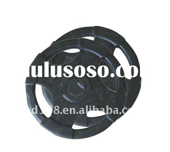 YD-6504 Rubber barbell plate for sale