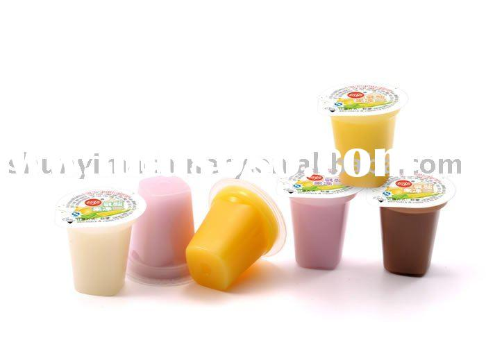 Yogurt Jelly cup filling sealing machine