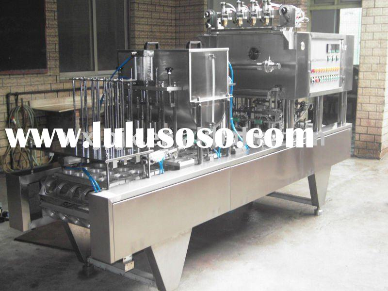 Yogurt filling and sealing machine yogurt filling machine yogurt cup filling and sealing machine
