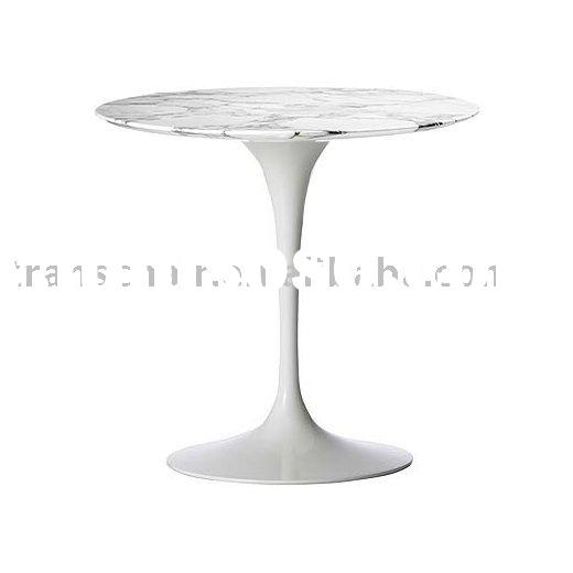 *Dining Table-5*-Tulip table/round table/marble top/marble table/natural stone table/fiberglass tabl