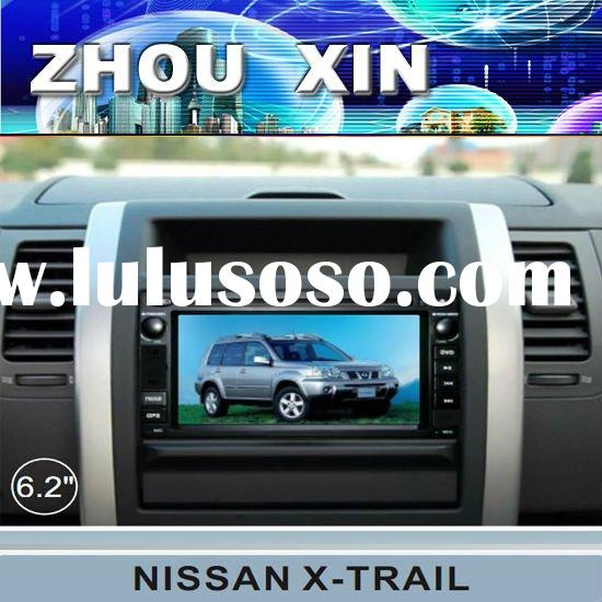 (NISSAN-X-TRAIL) 7 inch two din car DVD Player with GPS,bluetooth