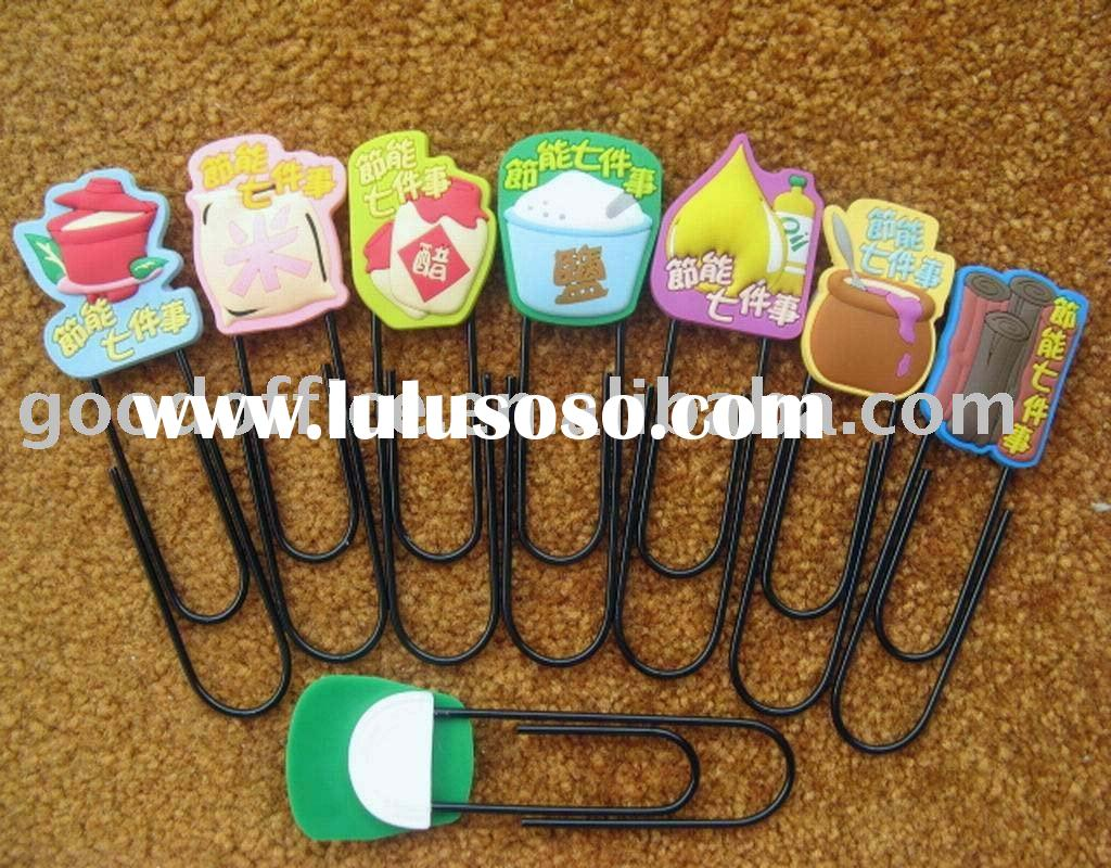 [Office Promotion Gift] soft pvc paper clip