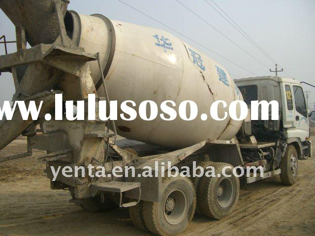 (SOLD) used concrete mixer for sale - CHINA ISUZU mixer (12) - used cement mixer