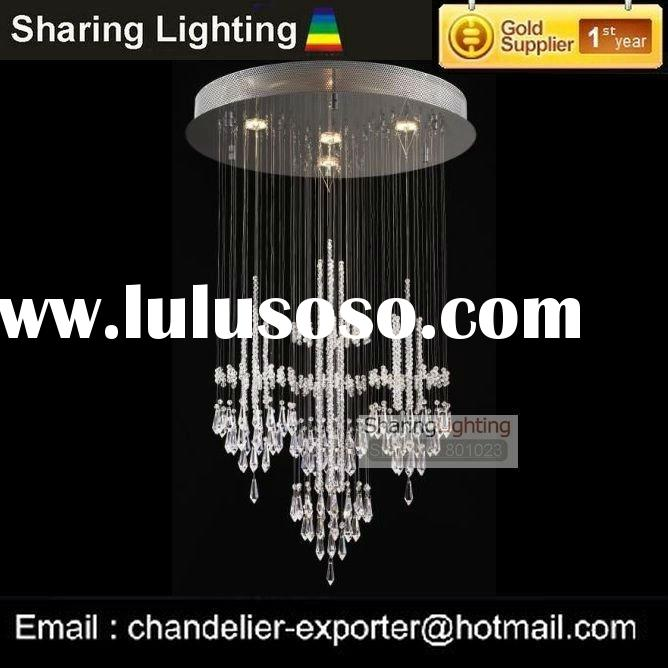 [Sharing Lighting]Crystal Ceiling chandelier,pendant lamp(W45H90cm)