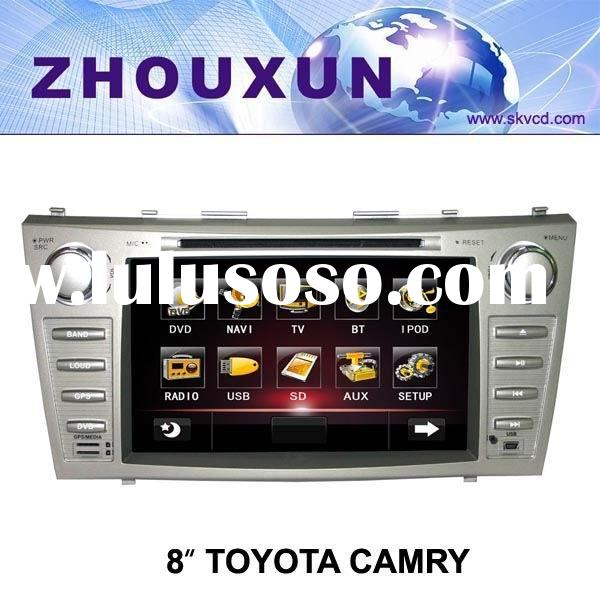 "(Toyota CAMRY) 8"" HD digital TFT auto DVD gps player, with TV,radio, bluetooth"