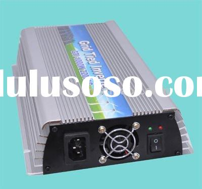 (small solar system) 12VDC input grid tie inverters 1000W with solar panels