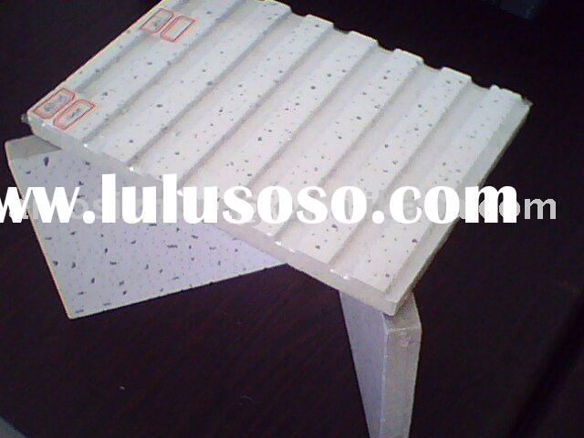 acoustical mineral wool ceiling board/mineral fiber ceiling/mineral ceiling board