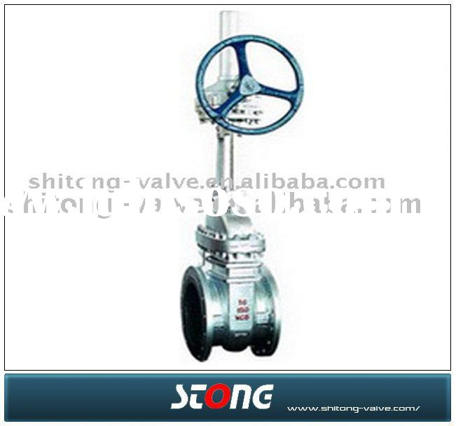 actuated gate valve(actuator motor gate valve,oil gate valve)
