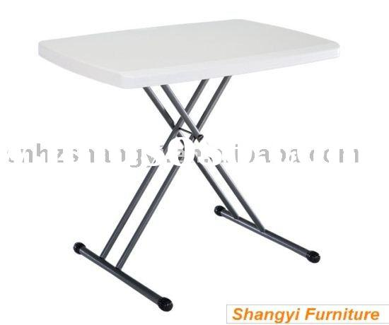 adjustable plastic Folding laptop Table