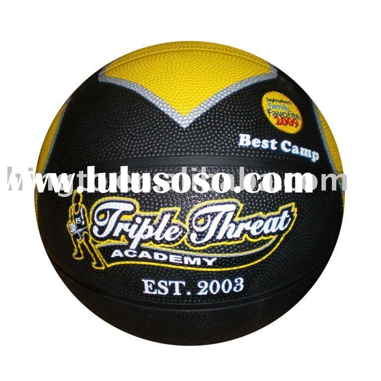 advantage camps rubber basketball