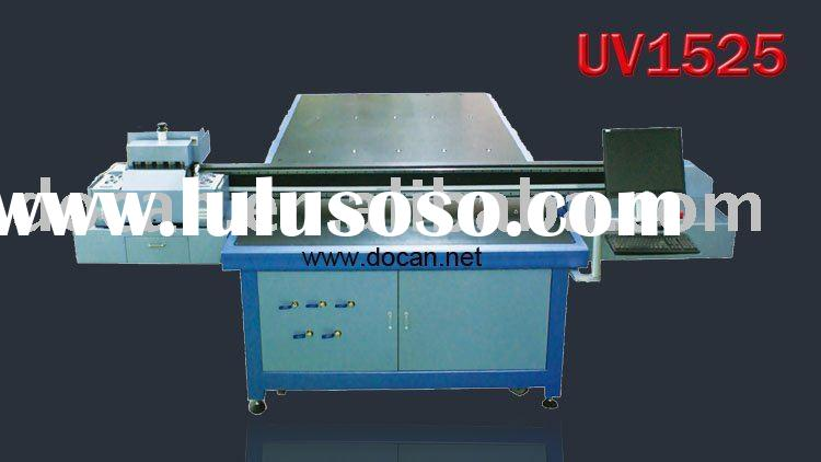 advertising printing machine ( uv digital inkjet flatbed printer )