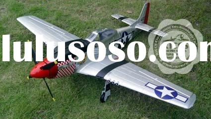 air plane model WWII P-51D Mustang 6CH 2.4G RC airplane