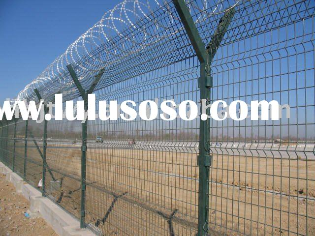 airport field security fence