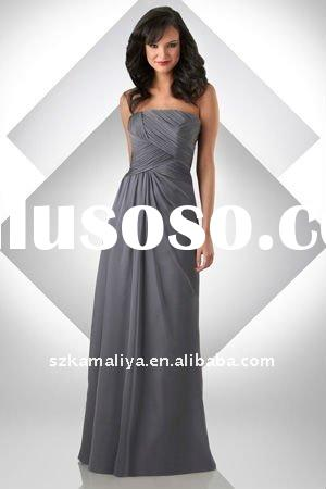 allure elegant western sweetheart floor lenght dress matron of honor dresses