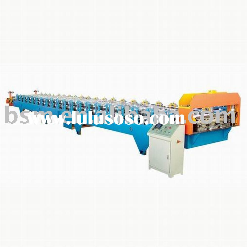 aluminium roll forming machine for roofing,steptiles, regular double deck