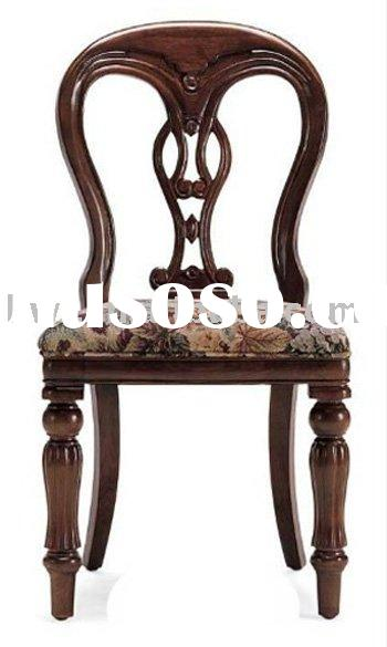 Antique Wooden T Back Chair Styles