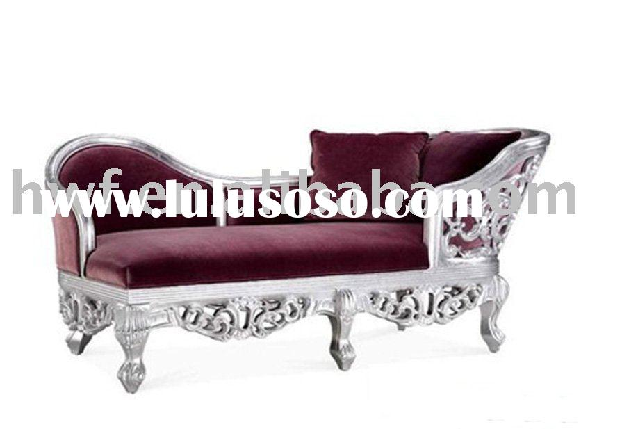 antique wood lounge chair furniture