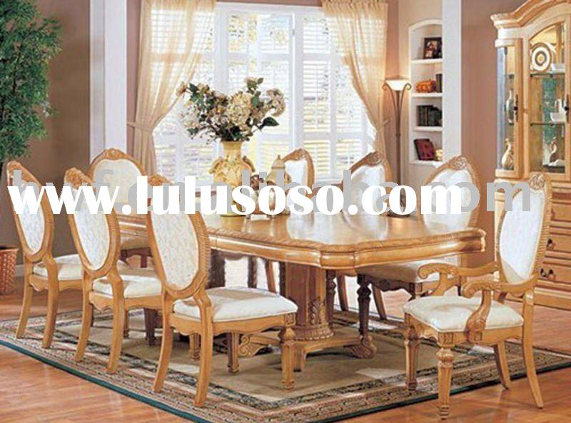 antique wooden dining room furniture
