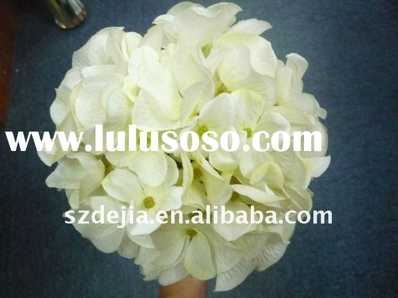 artificial Hydrangea flower ball for decoration