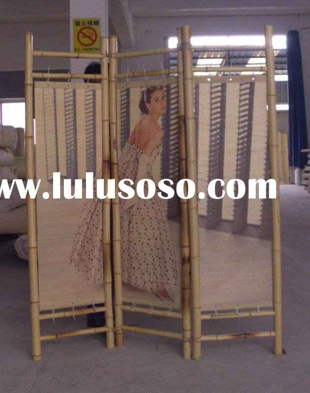 bamboo screens,folding screen,room screen,room dividers,bamboo products