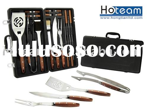 barbecue tool with rosewood handle/outdoor cooking
