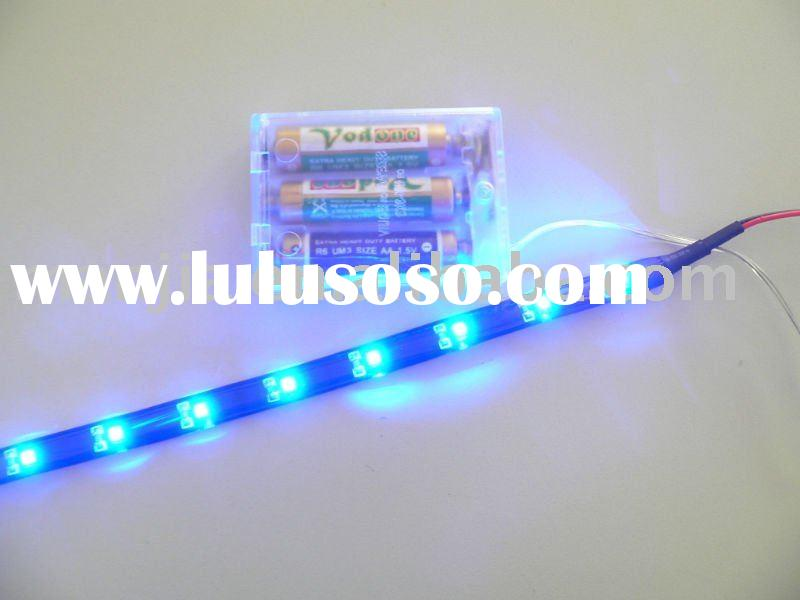 battery powered led strip light--4.5V blue led strip