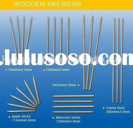 bbq skewers,bamboo sticks,food skewers,round skewers,wooden dowels,birchwood dowels,meet skewers,bar