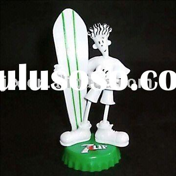 bendable figure/plastic figure/pvc figurine