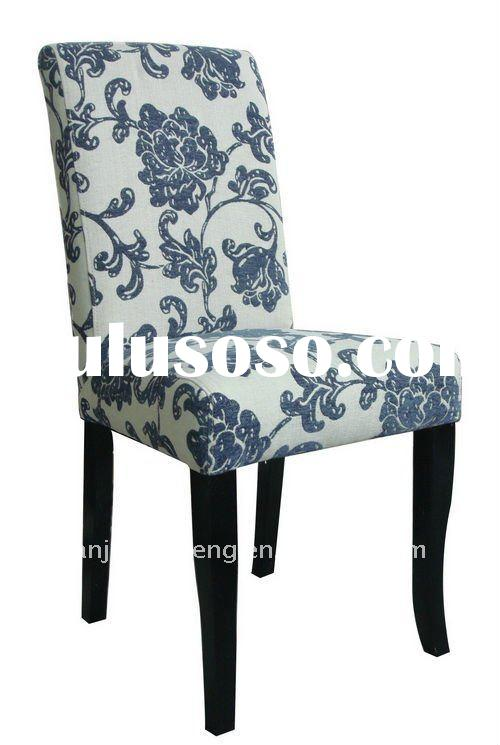 Skirted Fabric Dining Chairs In Room Furniture
