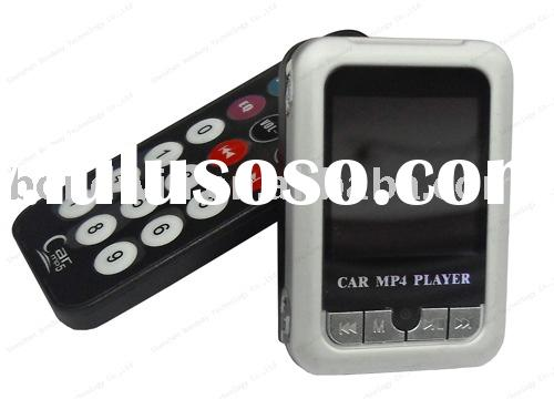 car mp4 player with fm modulator/car mp4 player/mp3/4 fm modulator