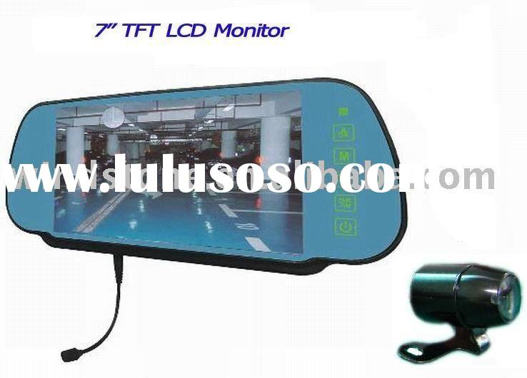 car rear view monitor with 7 inch LCD monitor and reverse camera. wireless is optional>