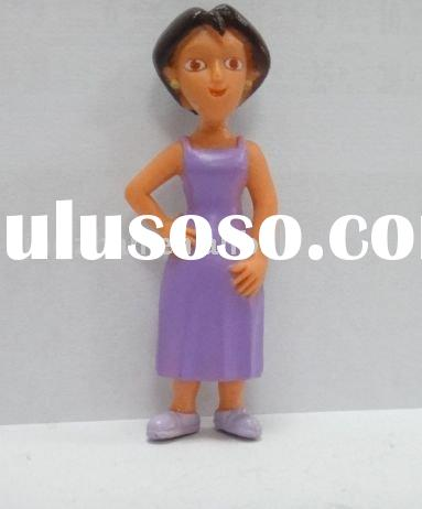 cartoon action figure of woman