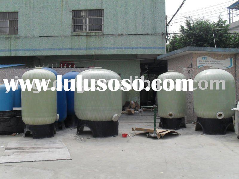 cation exchange resin tank for water softener systems