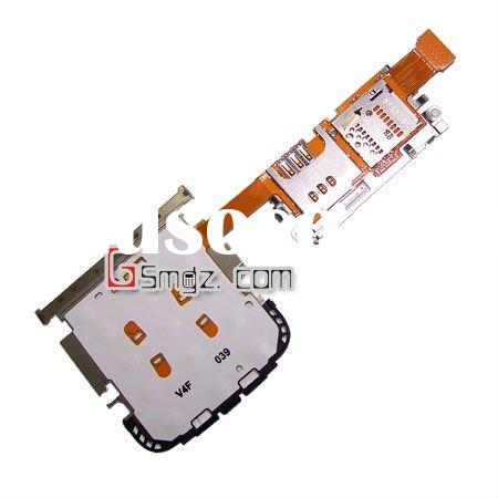 cell phone keypad board flex cable with SIM+MMC suit for Nokia C3-01