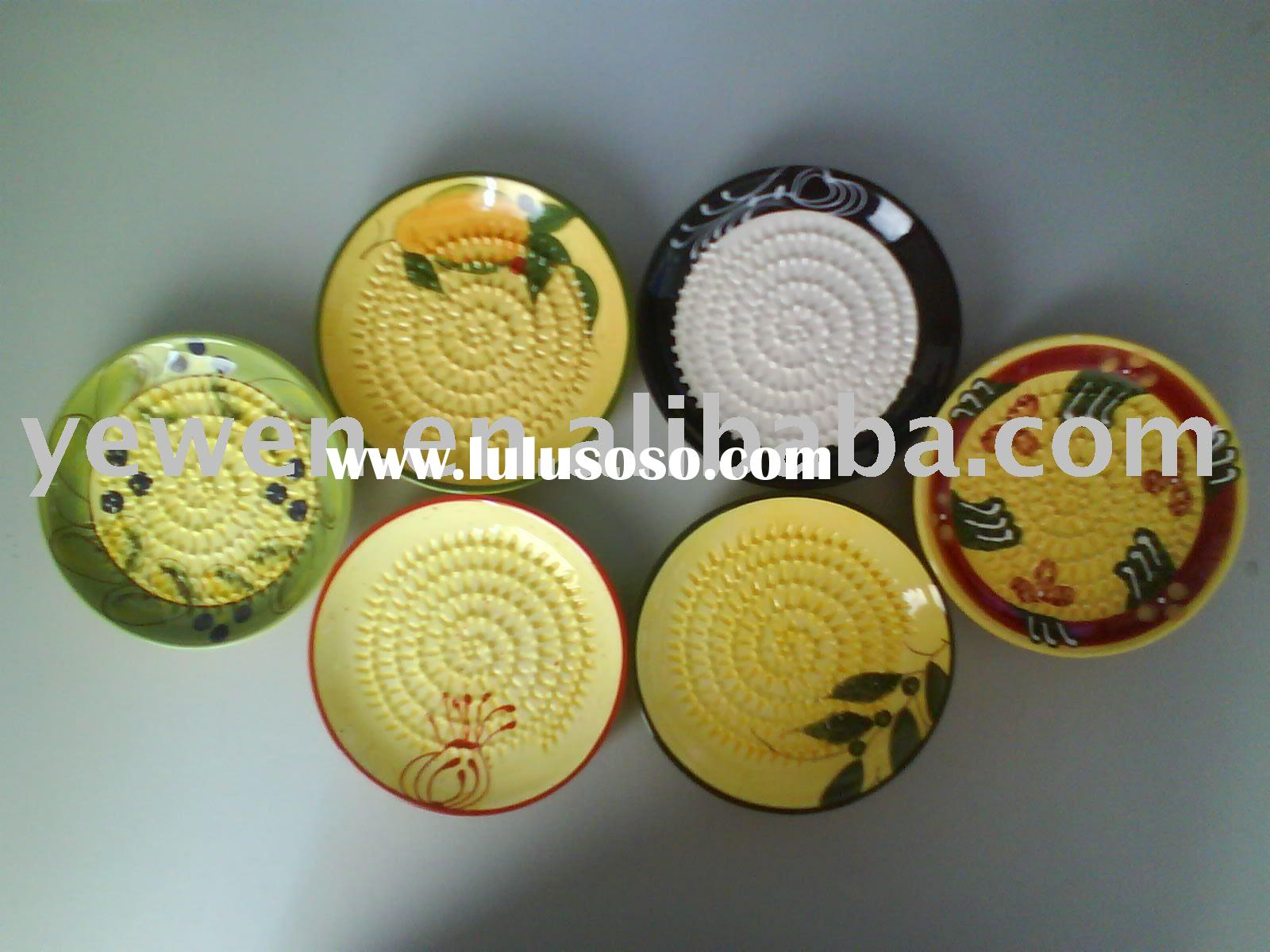 ceramic grater plate,grater plate