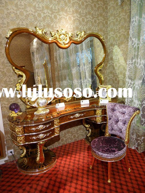 classic wooden dressing table(bedroom furniture)