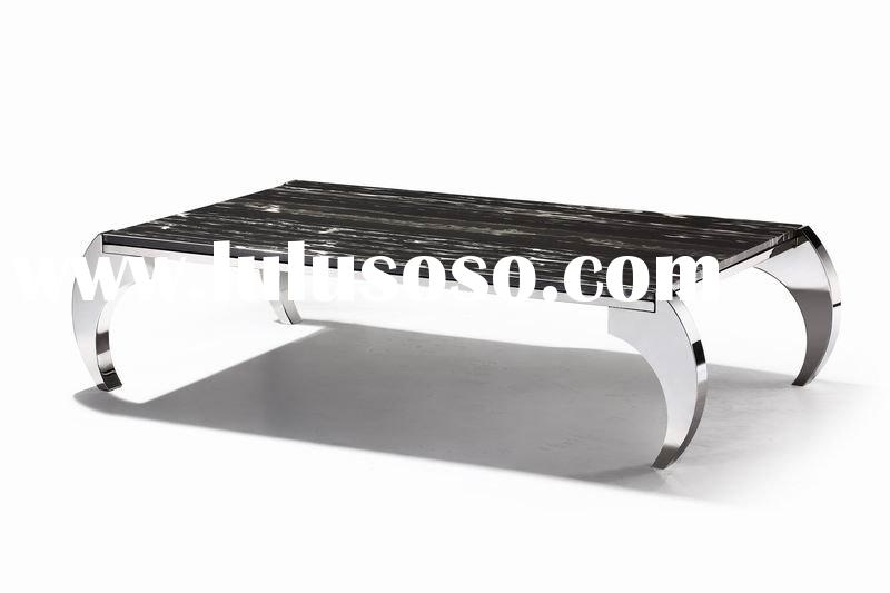 coffee table,marble table with stainless steel leg,living room furniture,home furniture