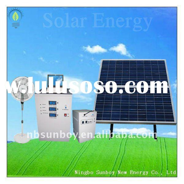complete 300w low price solar system for home