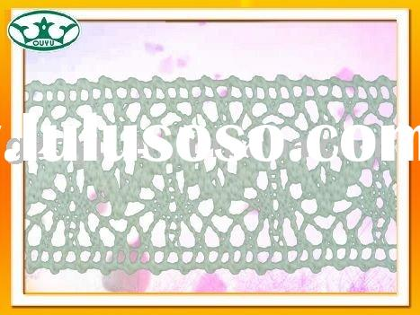 cotton elastic lace