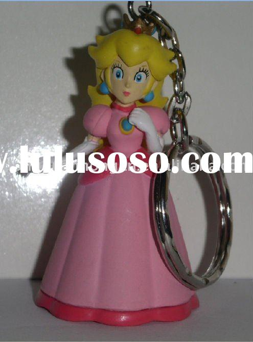 custom action figure/3D pvc keychain