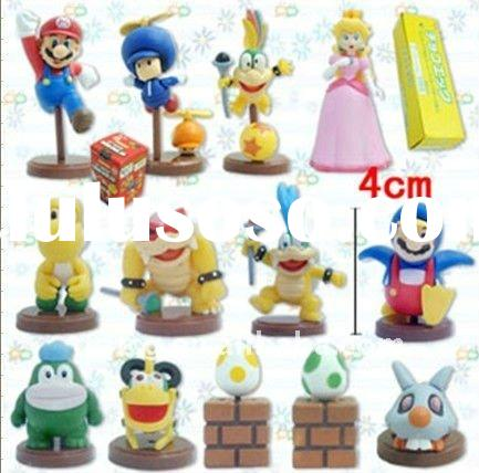cute anime super mario action figure