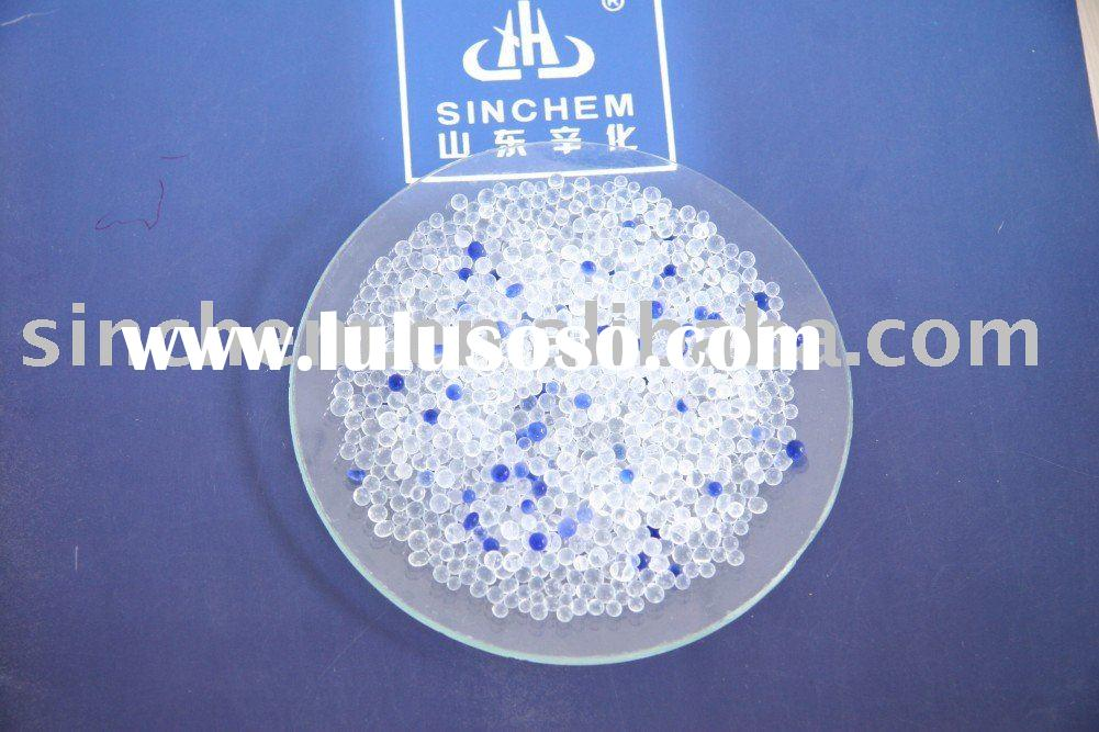 desiccant silica gel. CHARACTER: 1. Fine-pored silica gel includes