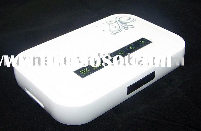 digital video converter NBOX internet movie player working with SD and USB, connected to tv with YPb