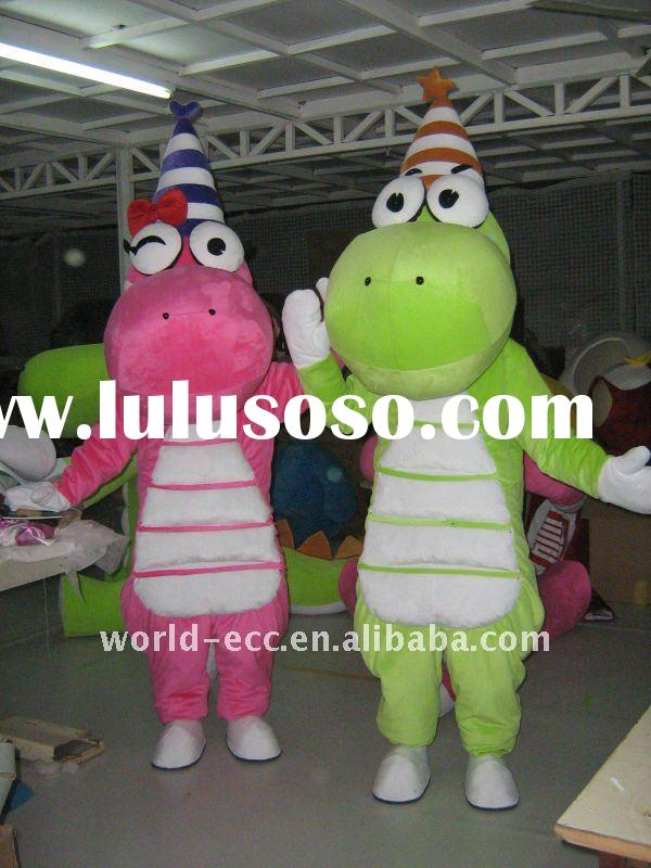 dinosaur mascot costumes, dinosaur carnival costumes,fancy dress costumes
