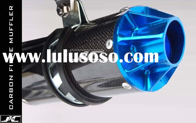 dirt bike parts carbon filbre muffler 1 fit for all dirt bike parts